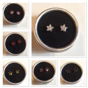 ⭐️ New list! ⭐️ Beautiful zircon star earrings